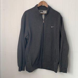 Nike Grey Men's Gym Full ZIP Up Jacket